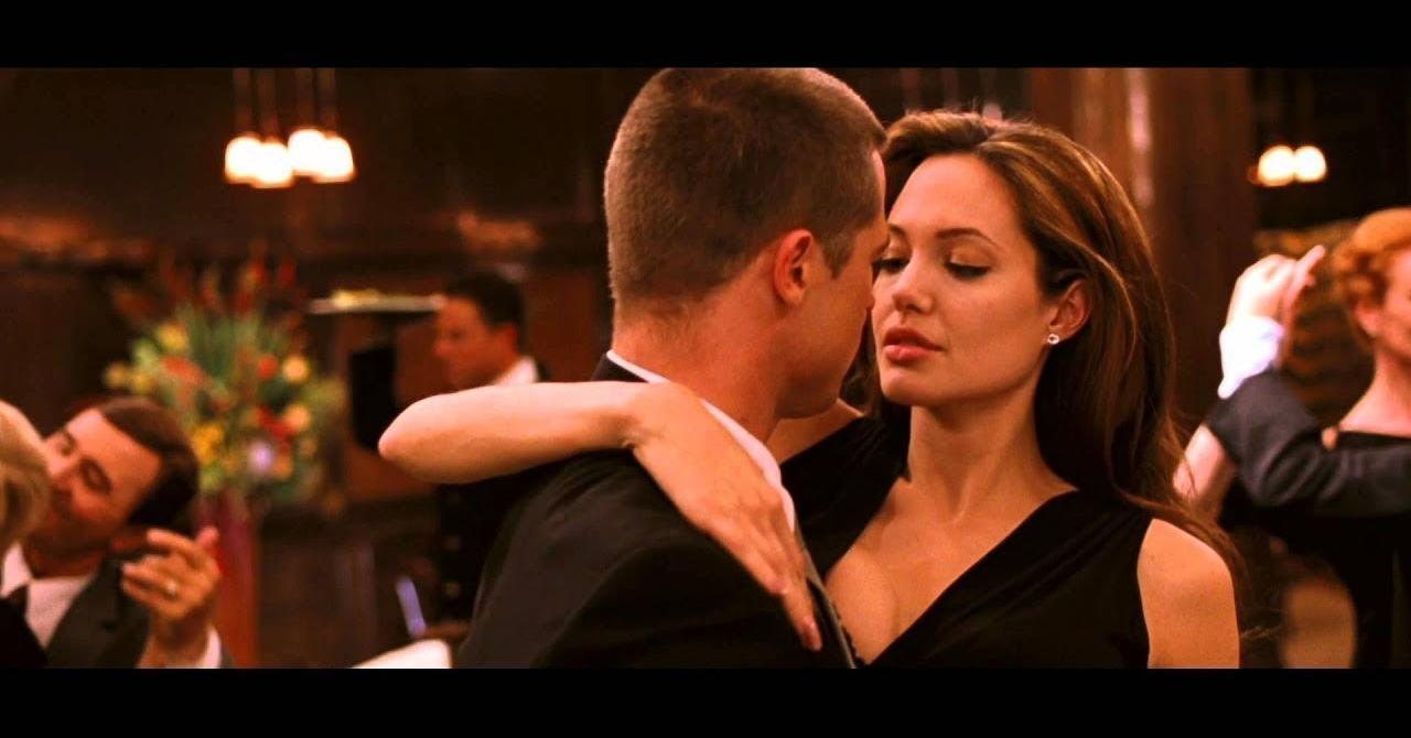 8a786c94617e0 Mr   Mrs Smith   le coup de foudre de Brad Pitt et Angelina Jolie en ...