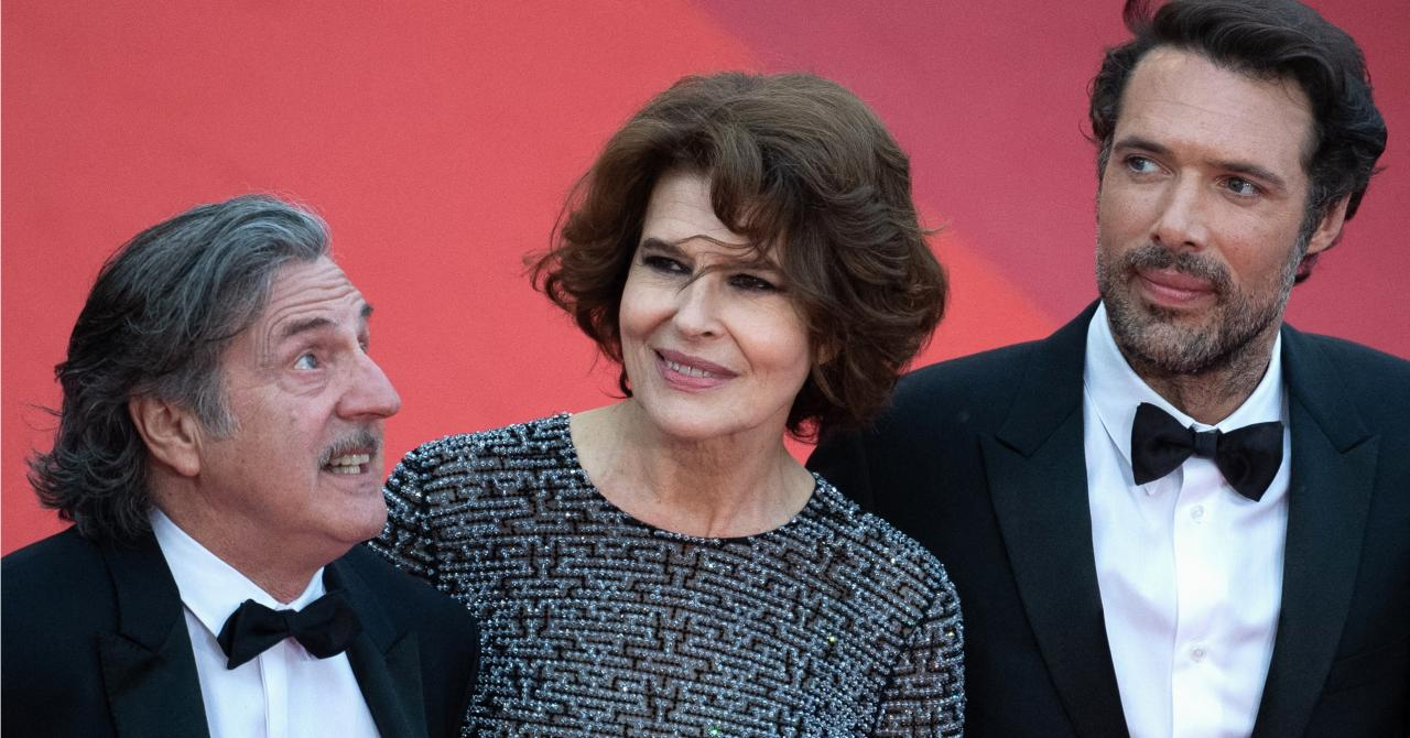 Ardant Bedos Auteuil Cannes