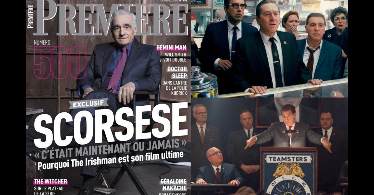 Sommaire de Première n°500 : Martin Scorsese et son The Irishman à l'honneur