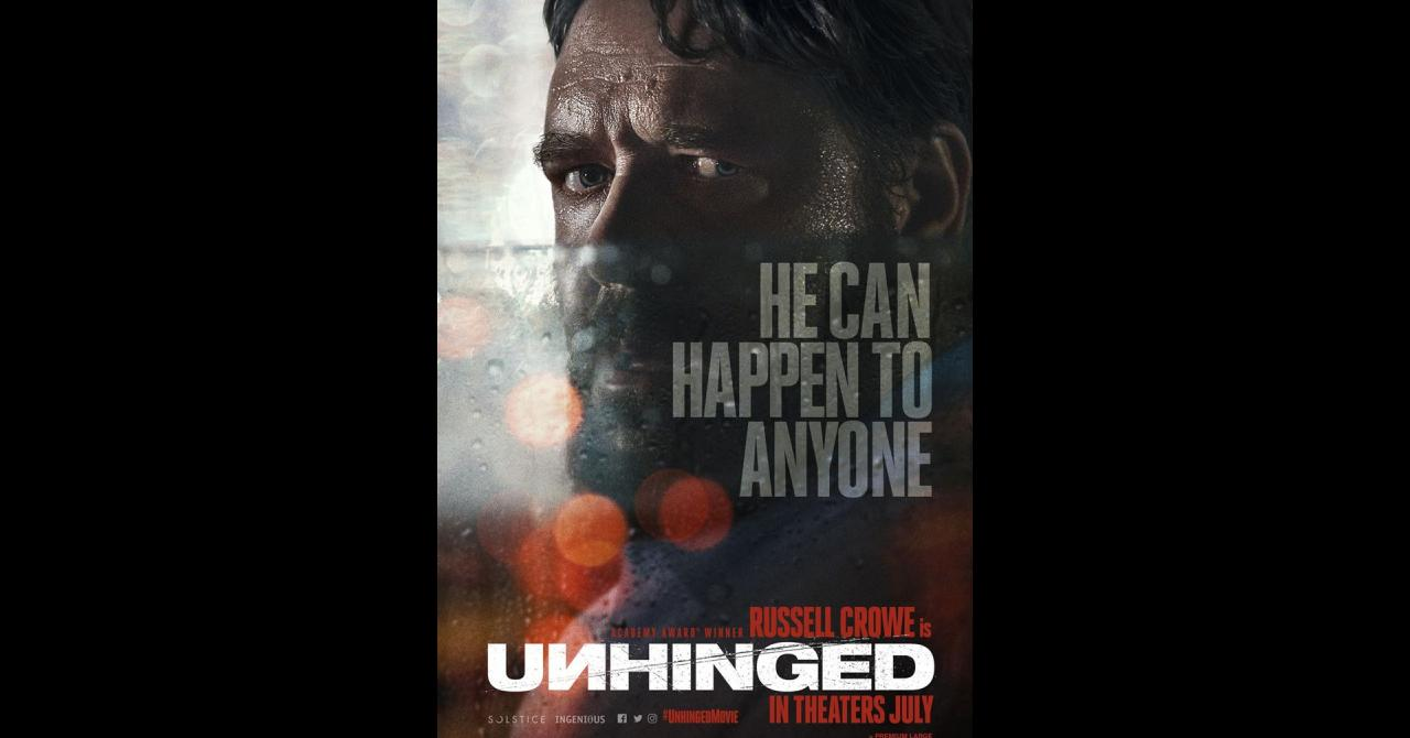 Unhinged affiche