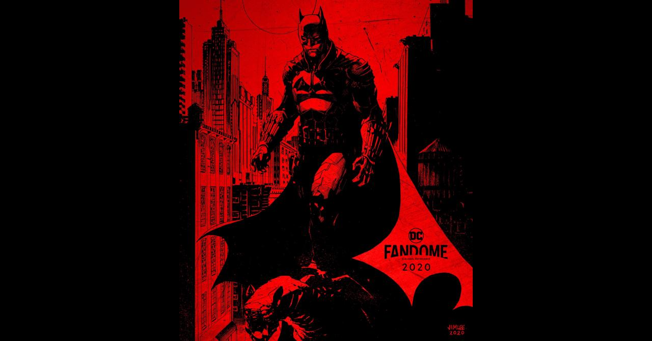 The Batman : l'affiche du DC FanDome par Jim Lee