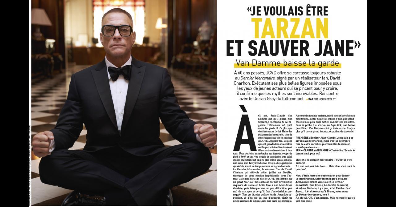 Premiere n ° 520: Interview with Jean-Claude Van Damme for The Last Mercenary