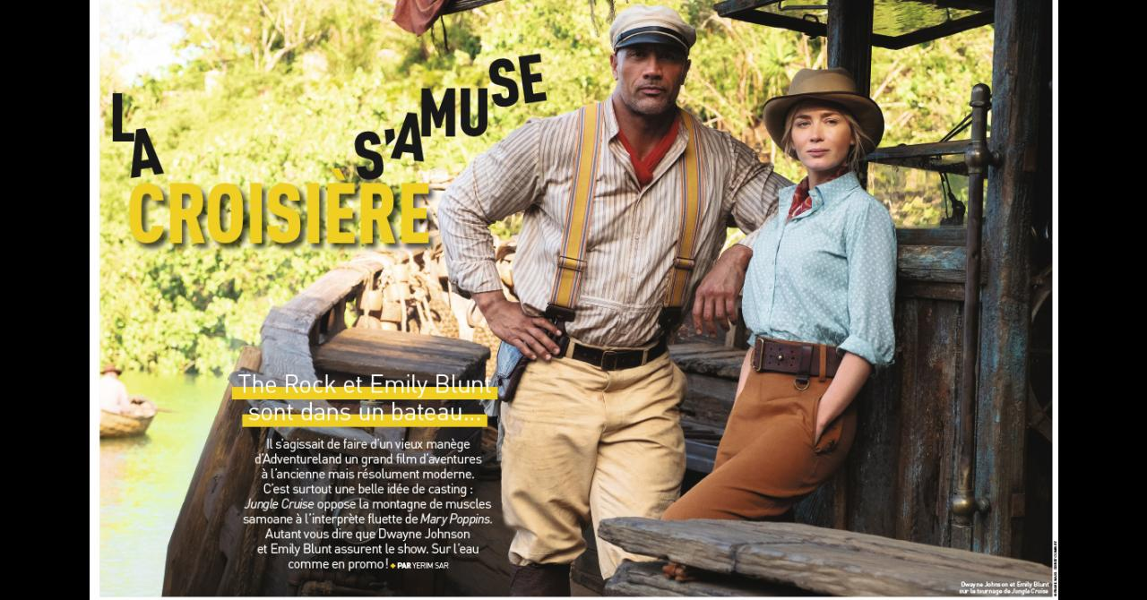 Premiere # 520: Meet Emily Blunt and Dwayne Johnson for Jungle Cruise