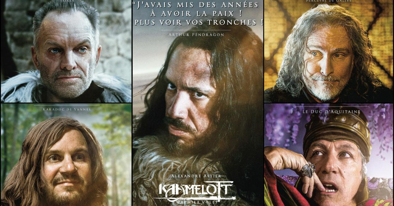 Kaamelott: Alexandre Astier teases the release of the film with a series of posters