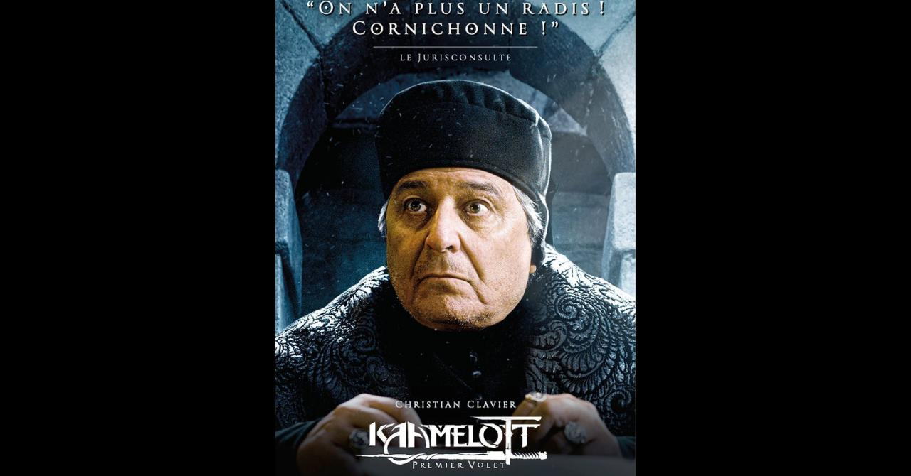 Kaamelott, it's getting closer: Christian Clavier plays the Jurisconsult