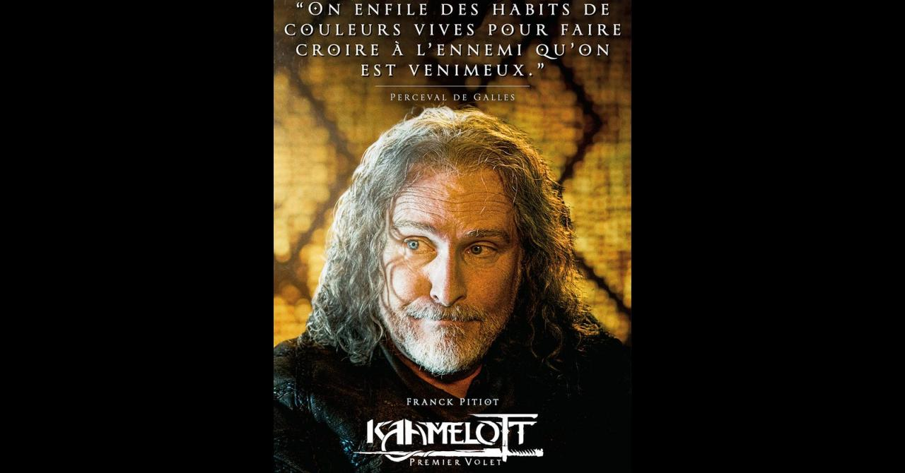 Kaamelott, it's getting closer: Franck Pitiot plays Perceval