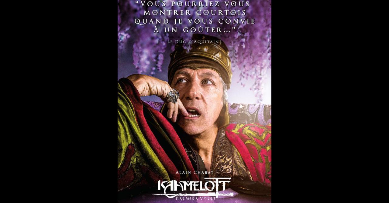 Kaamelott, it's getting closer: Alain Chabat plays the Duke of Aquitaine