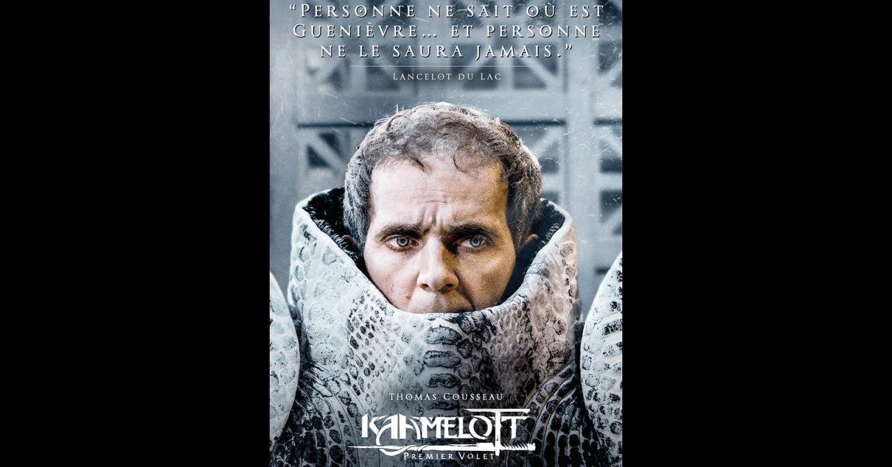 Kaamelott, it's getting closer: Thomas Cousseau plays Lancelot