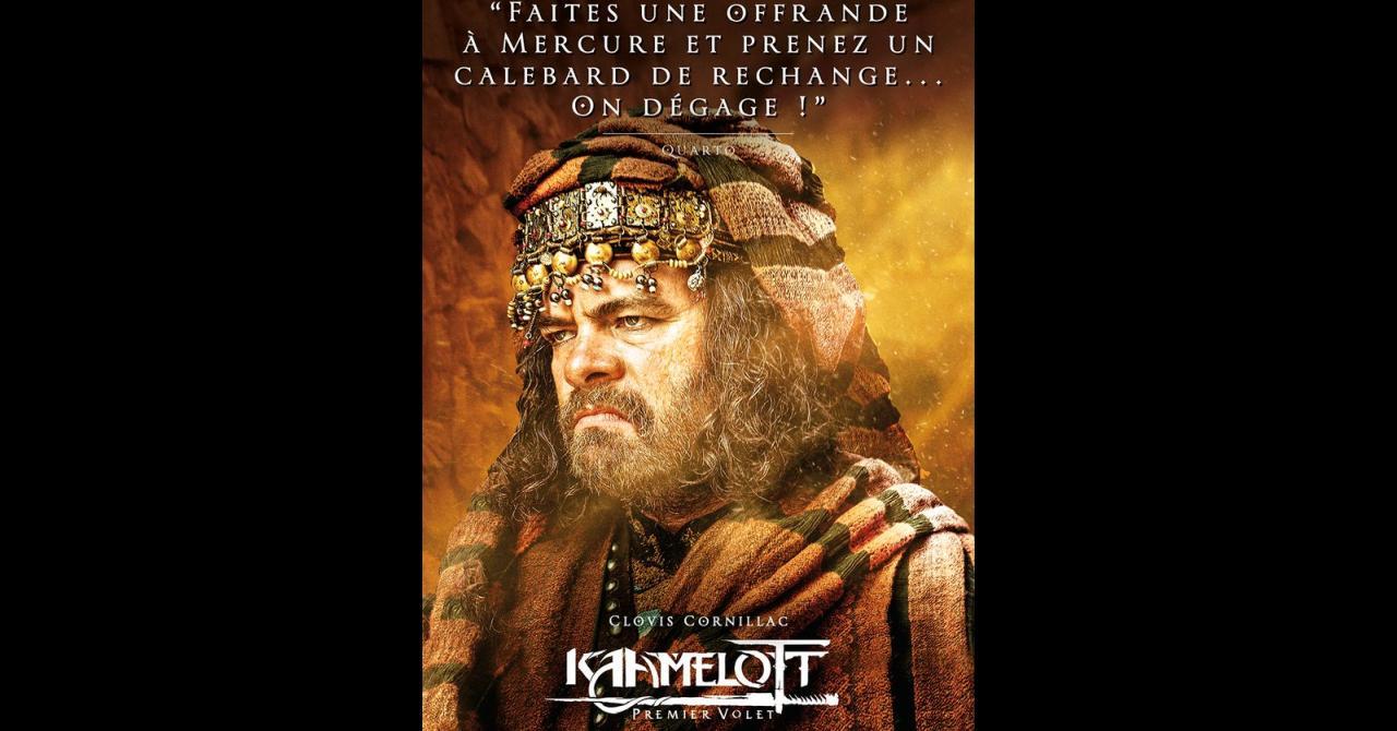 Kaamelott, it's getting closer: Clovis Cornillac plays Quarto