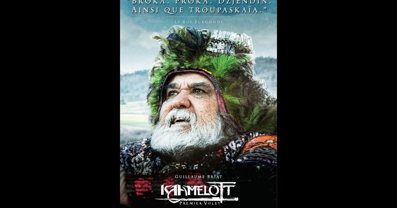 Kaamelott, it's getting closer: Guillaume Briat plays King Burgonde