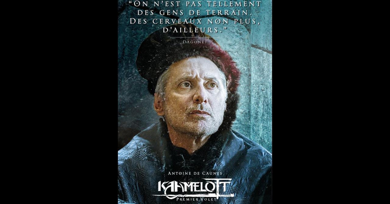 Kaamelott, it's getting closer: Antoine de Caunes plays Dagonet