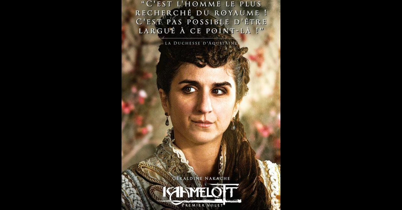 Kaamelott, it's getting closer: Geraldine Nakache plays the Duchess of Aquitaine