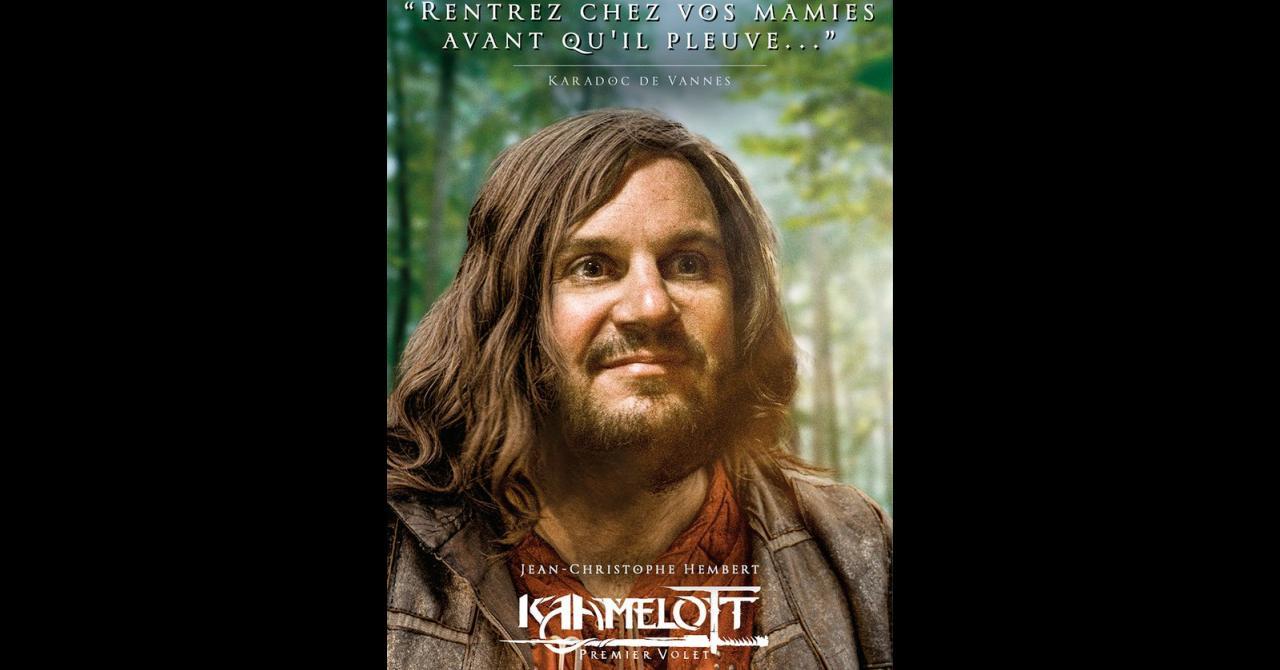 Kaamelott, it's getting closer: Jean-Christophe Hembert plays Karadoc