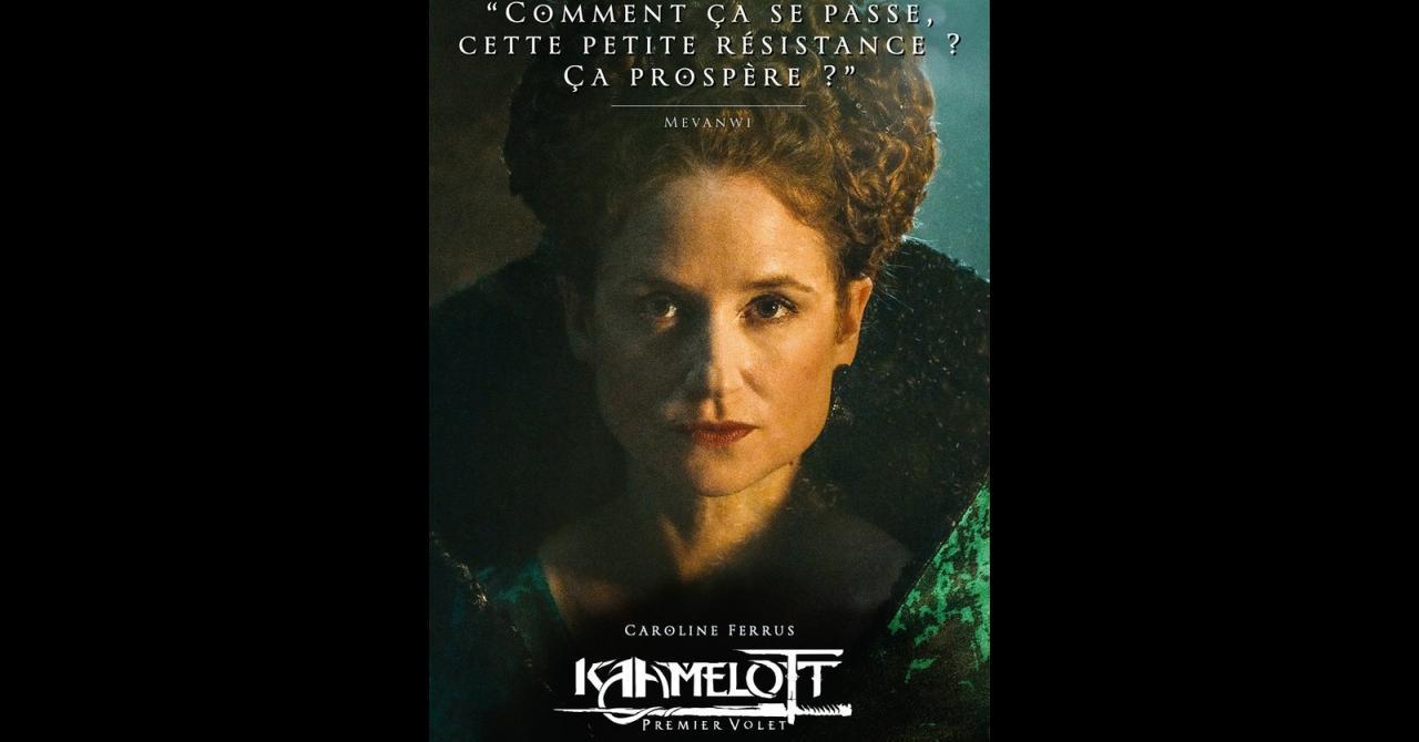 Kaamelott, it's getting closer: Caroline Ferrus plays Mevanwi