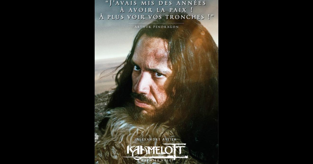 Kaamelott, it's getting closer: Alexandre Astier plays Arthur