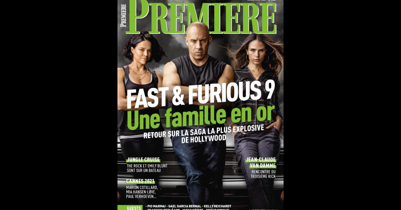 Premiere # 520: Fast & Furious 9 is on the cover