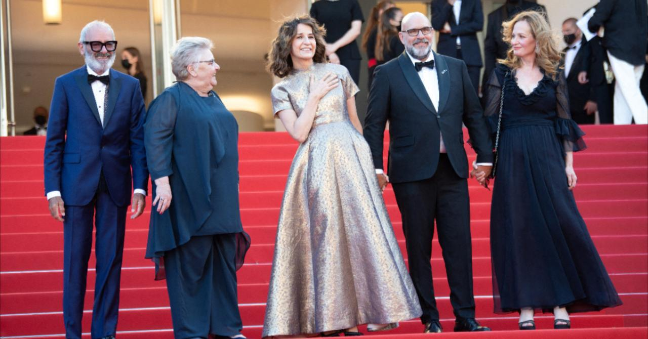 Cannes 2021: Aline's team climbs the stairs