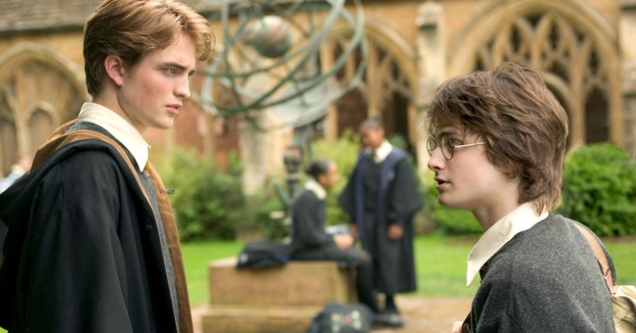 Robert Pattinson in Harry Potter 4
