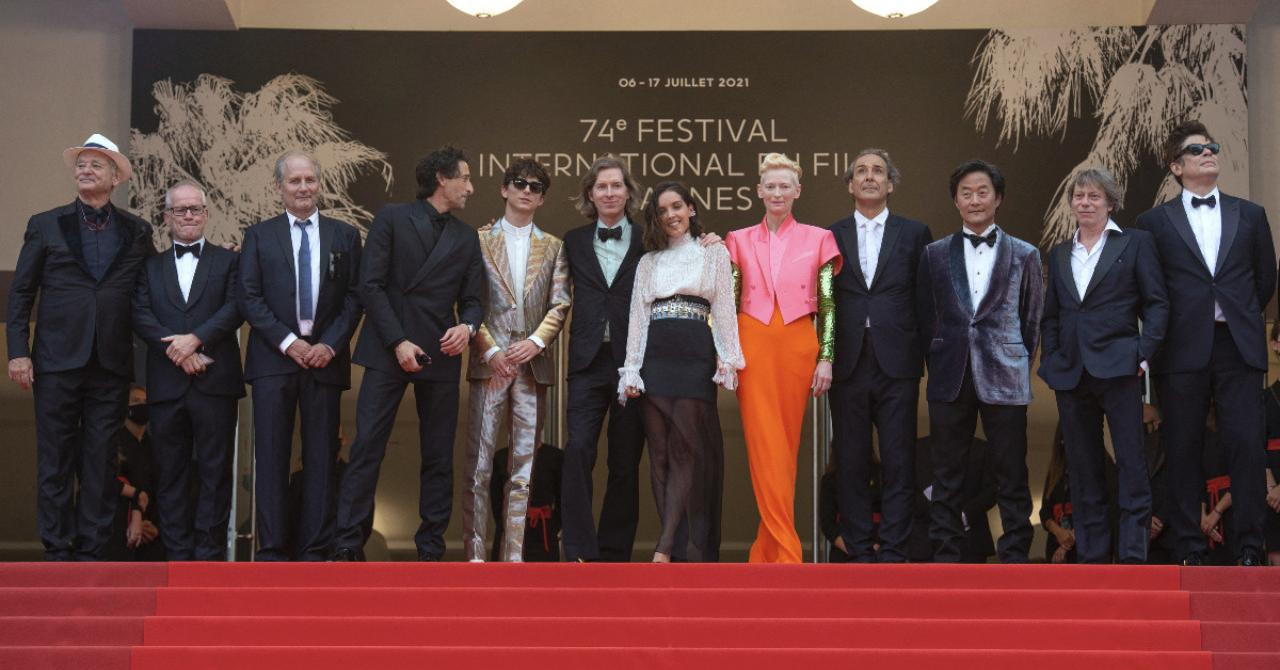 Cannes 2021: The French Dispatch team in full on the steps of the Palais des Festivals