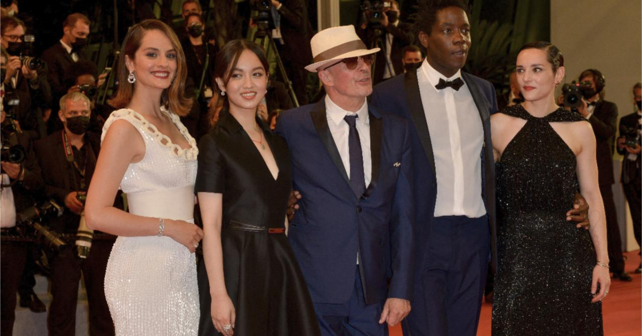 Cannes 2021: Noémie Merlant climbs the steps for Les Olympiades, by Jacques Audiard