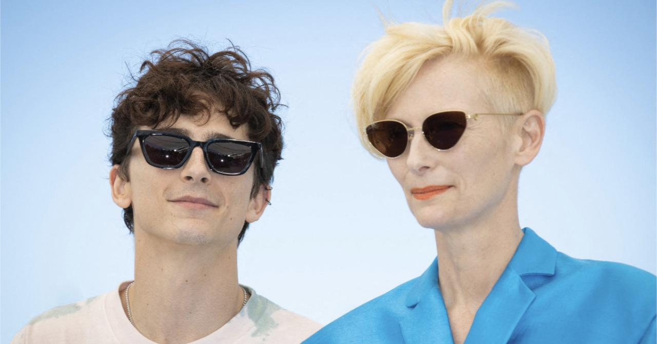 Cannes 2021: Timothée Chalamet and Tilda Swinton at the French Dispatch photocall
