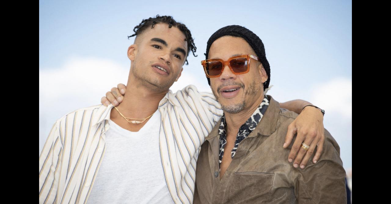 Cannes 2021: JoeyStarr and Théo Christine, who plays him in NTM's biopic, Suprêmes