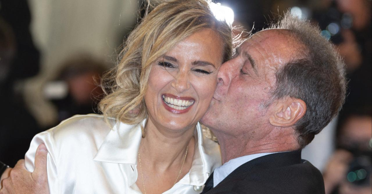 Cannes 2021: Julia Ducournau and Vincent Lindon on the red carpet of Titane
