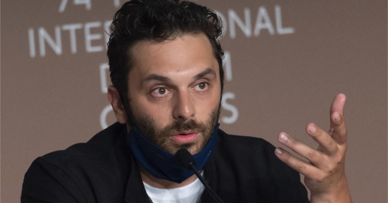 Cannes 2021: Pio Marmaï at the press conference of La Fracture