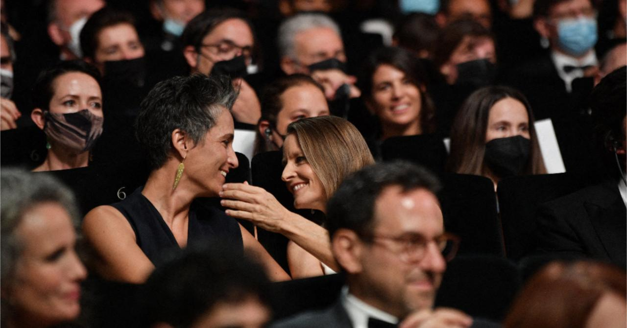 The opening night of the 2021 Cannes film festival: Jodie Foster and his wife Alexandra Hedison