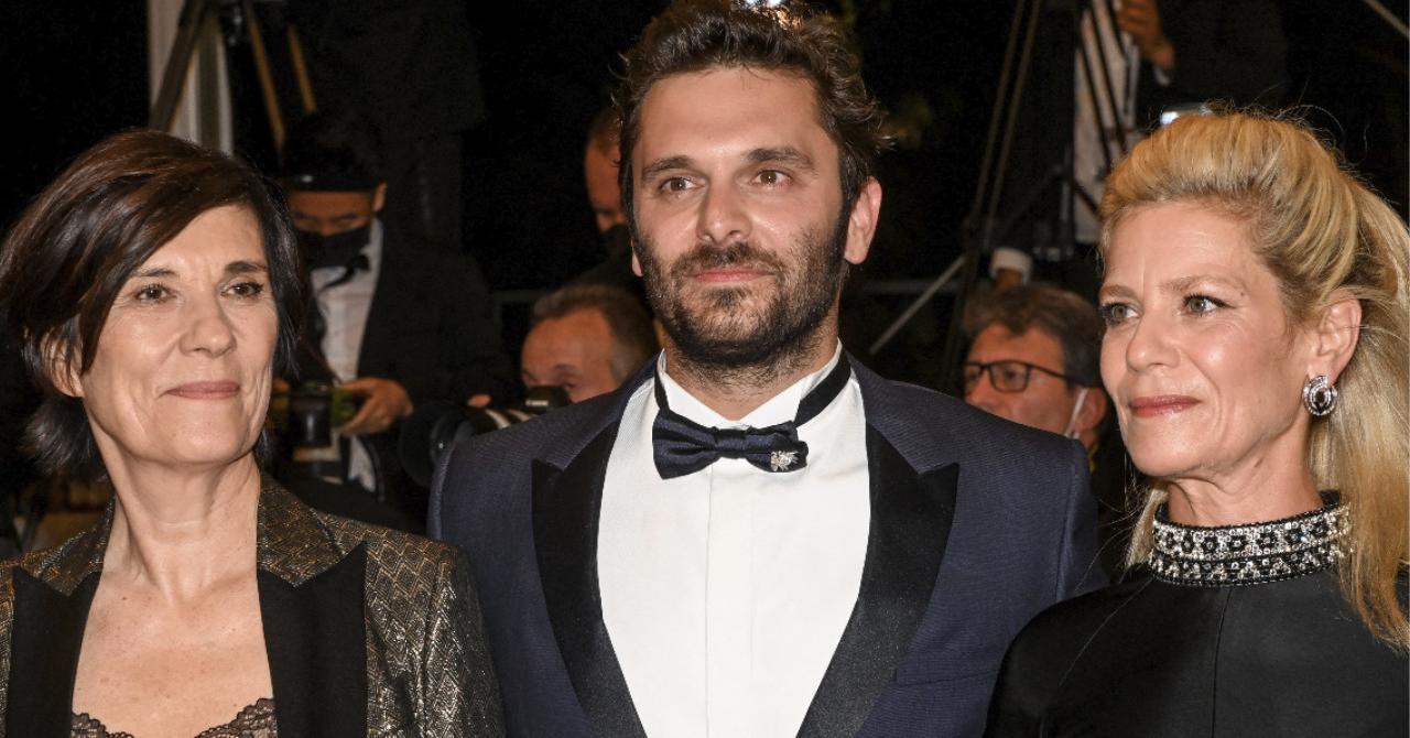 Cannes 2021: Catherine Corsini, Pio Marmaï and Marina Foïs on the red carpet of La Fracture
