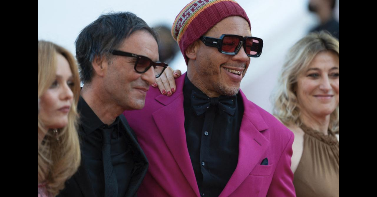 Cannes 2021: JoeyStarr, Vanessa Paradis, Samuel Benchetrit and Valeria Bruni-Tedeschi climb the steps for This music plays for no one