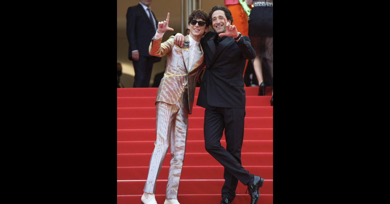 Cannes 2021: Timothée Chalamet and Adrien Brody
