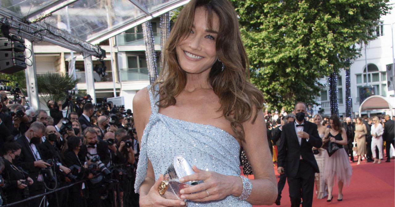 The opening night of the 2021 Cannes film festival: Carla Bruni