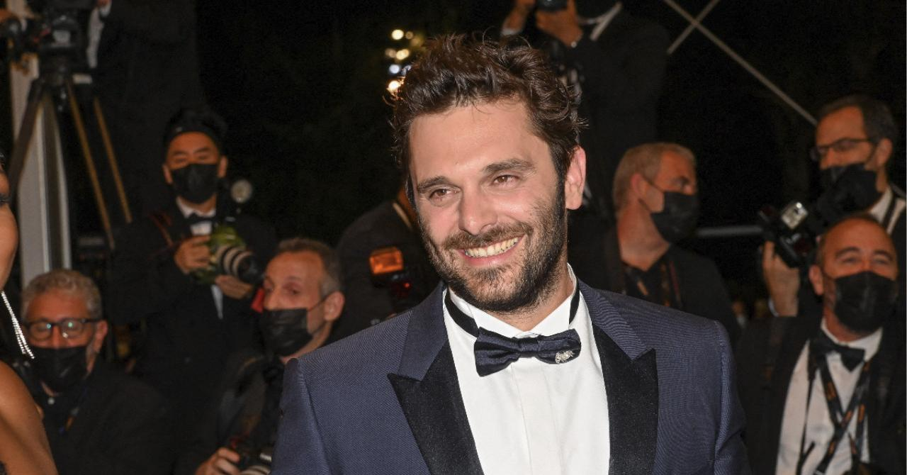Cannes 2021: Pio Marmaï on the red carpet of La Fracture