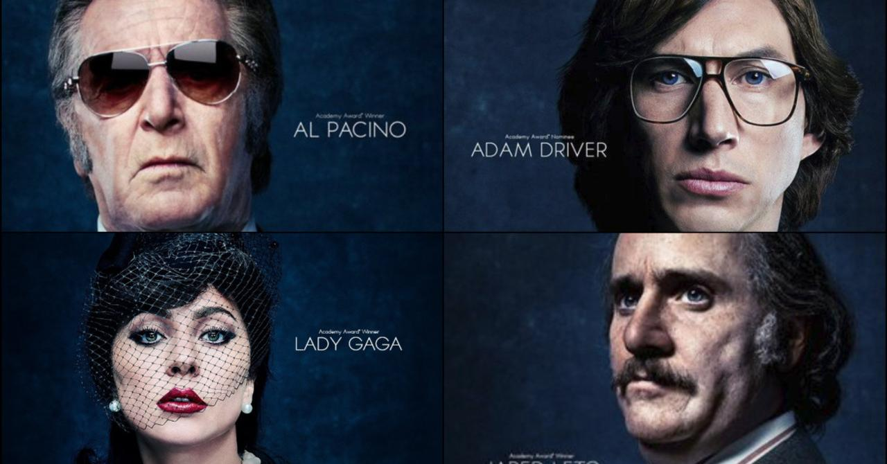 Family, sex, betrayal: Lady Gaga is the star of House of Gucci, by Ridley Scott [bande-annonce]