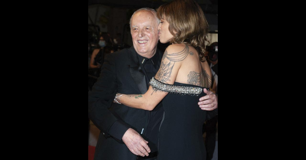Cannes 2021: Asia and Dario Argento on the red carpet of Vortex, by Gaspar Noé