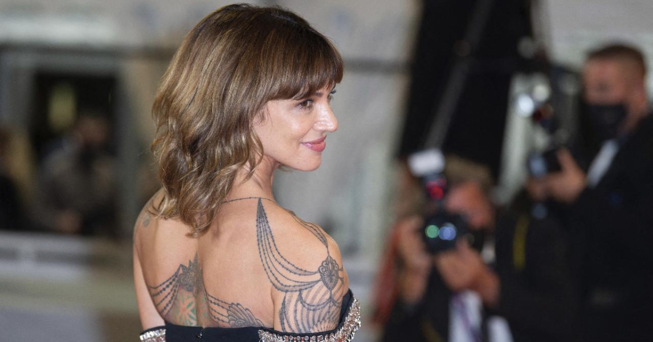 Cannes 2021: Asia Argento on the red carpet of Vortex, by Gaspar Noé