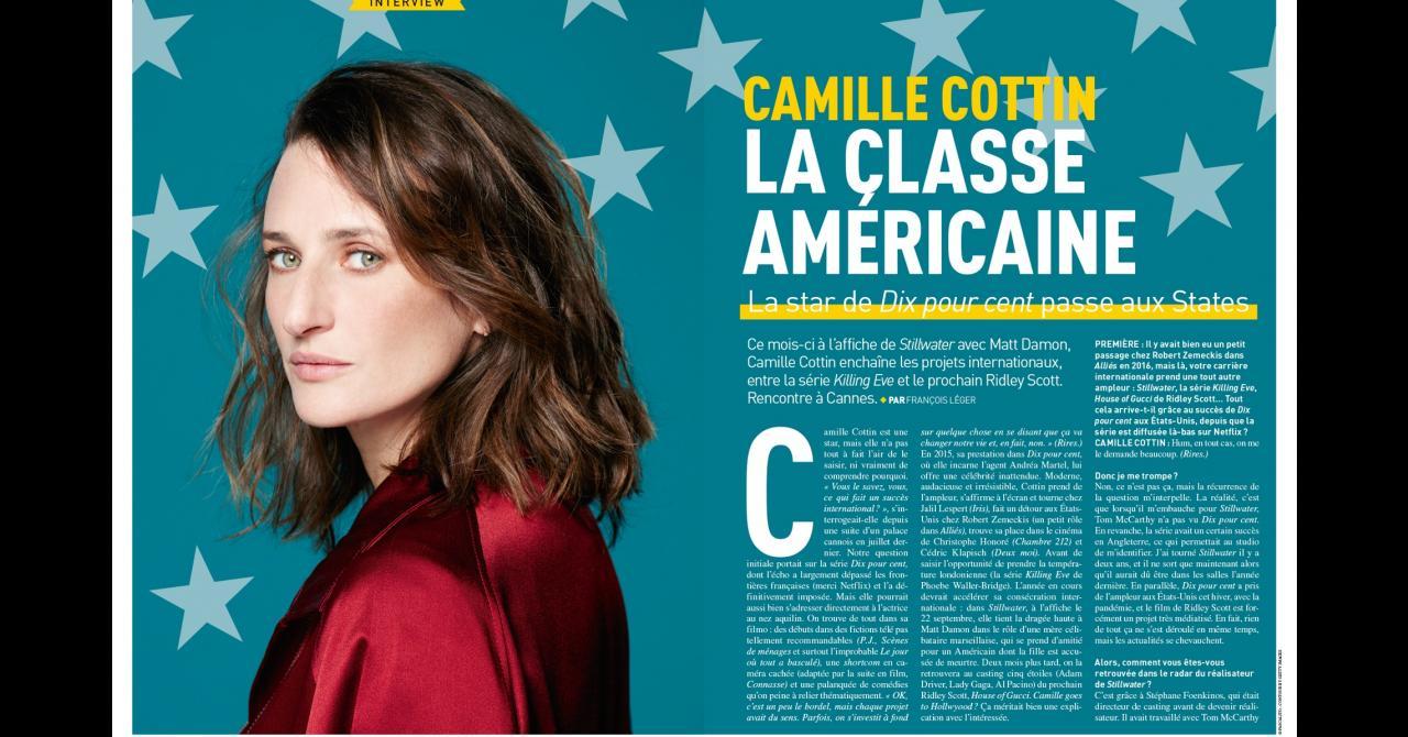 Premiere n ° 521: Interview with Camille Cottin (Stillwater)