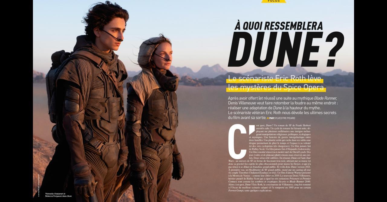 Premiere n ° 521: Dune