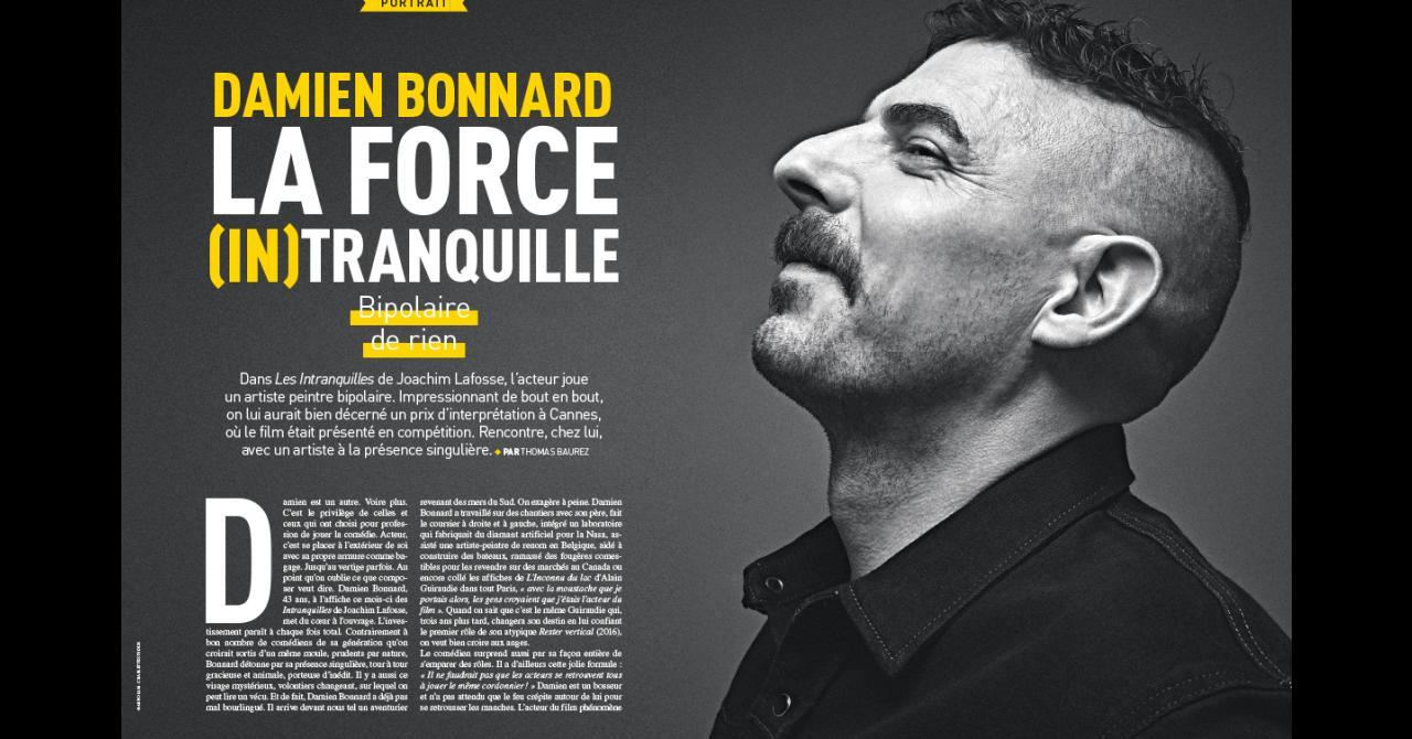Premiere n ° 522: Portrait of Damien Bonnard