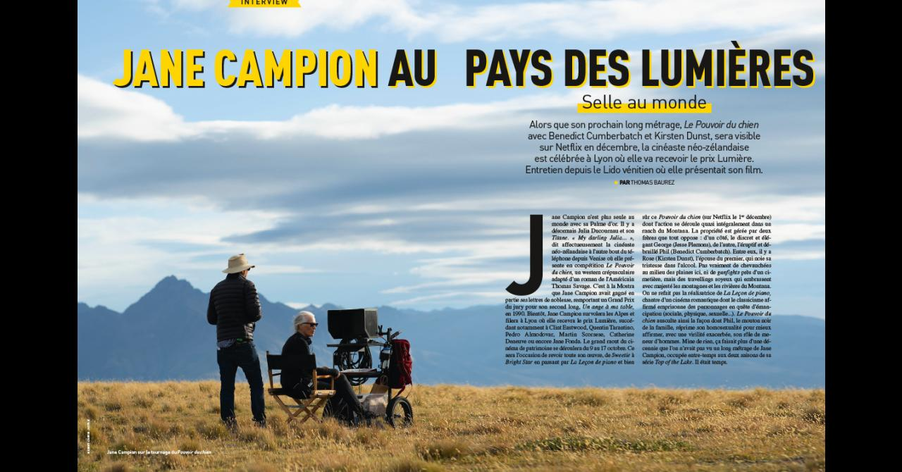 Premiere n ° 522: Interview with Jane Campion
