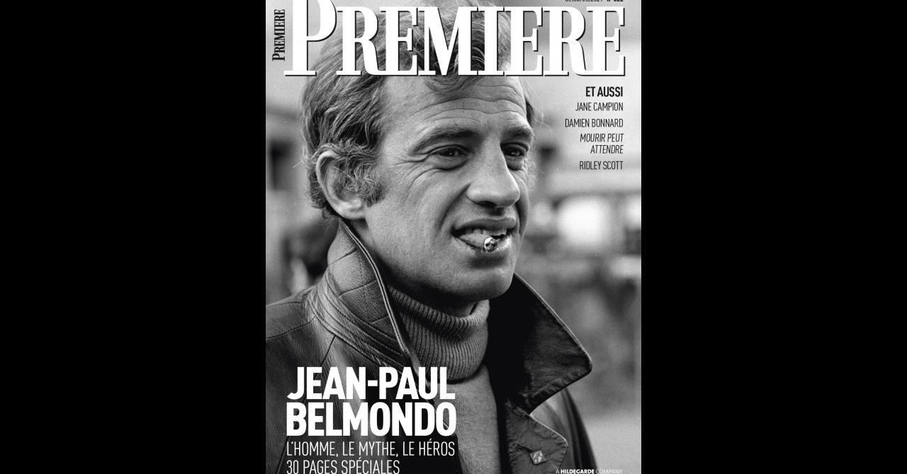 Premiere n ° 522: Jean-Paul Belmondo is on the cover
