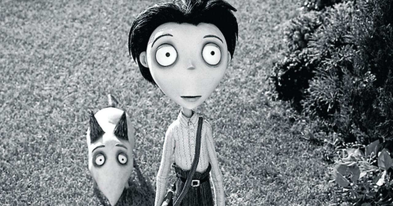 Victor Frankenstein and Frankenweenie (Frankenweenie, 2012)
