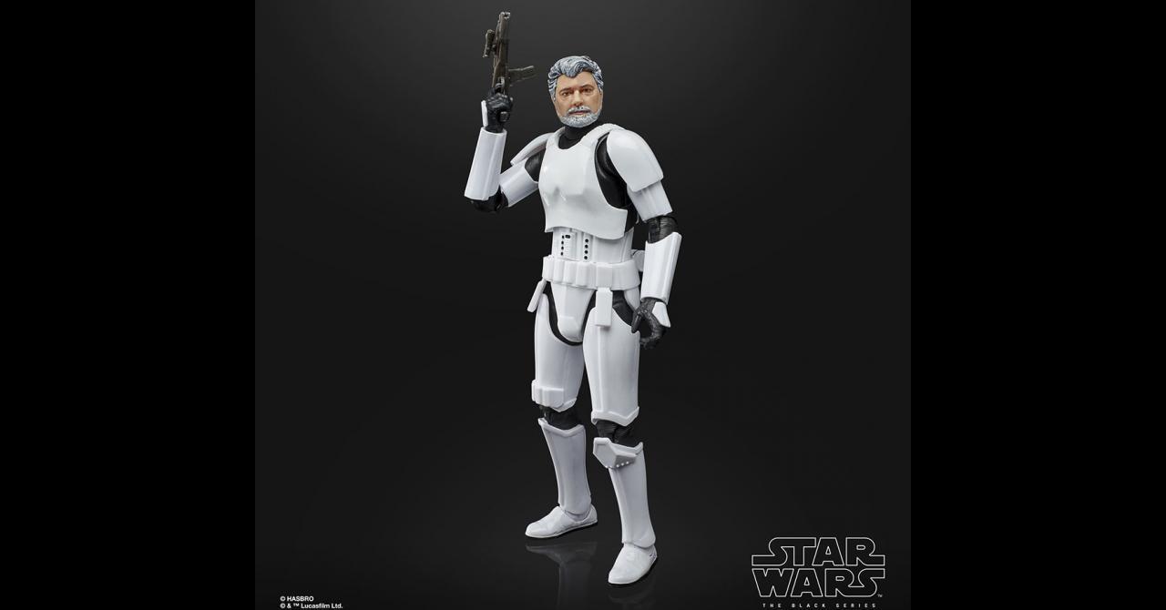George Lucas in Stormtrooper - Hasbro