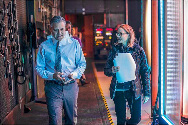 Jodie Foster sur le tournage de Money Monster