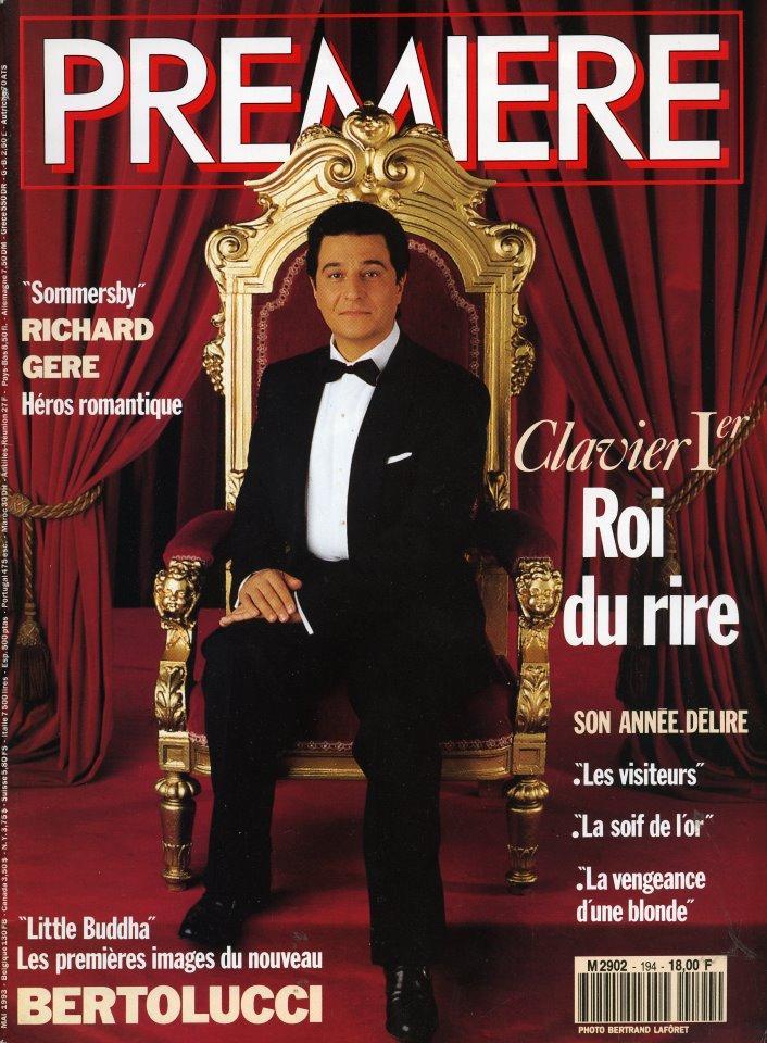 Premiere April 1993 Christian Clavier
