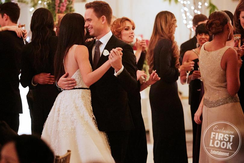 USA network. Tags  Suits · saison 7 · final · mariage · photo · meghan  markle