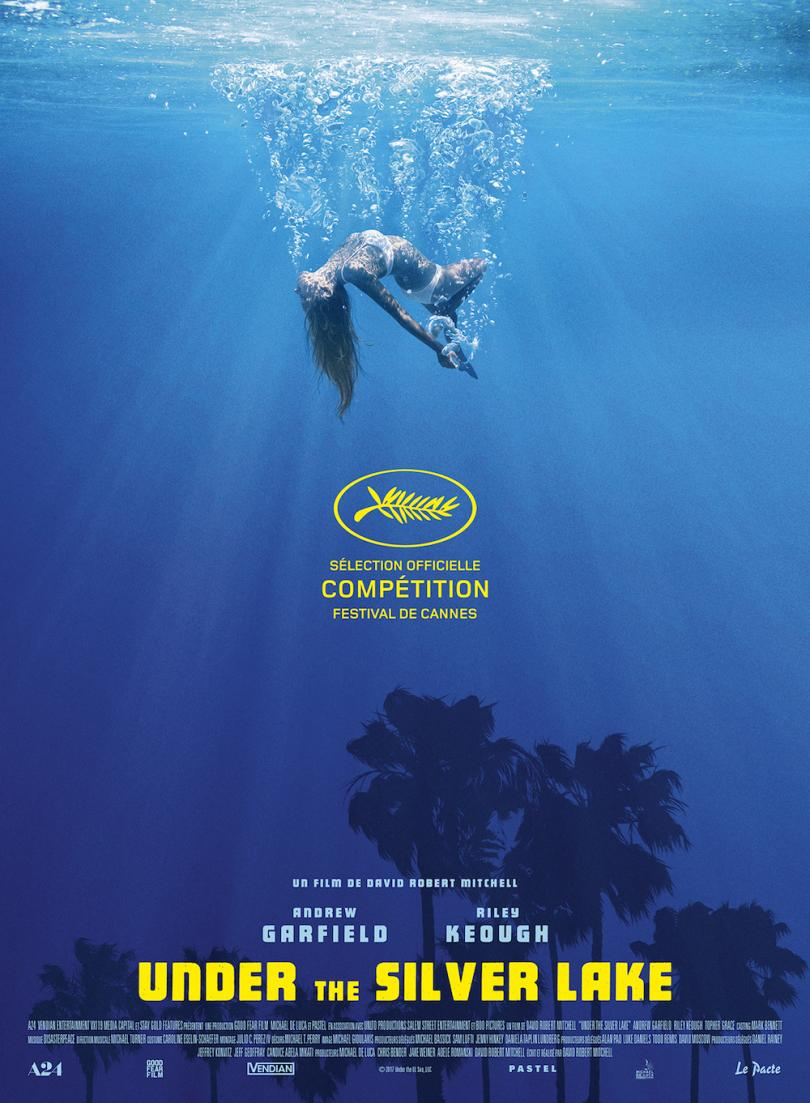 Affiche du film Under the silver lake
