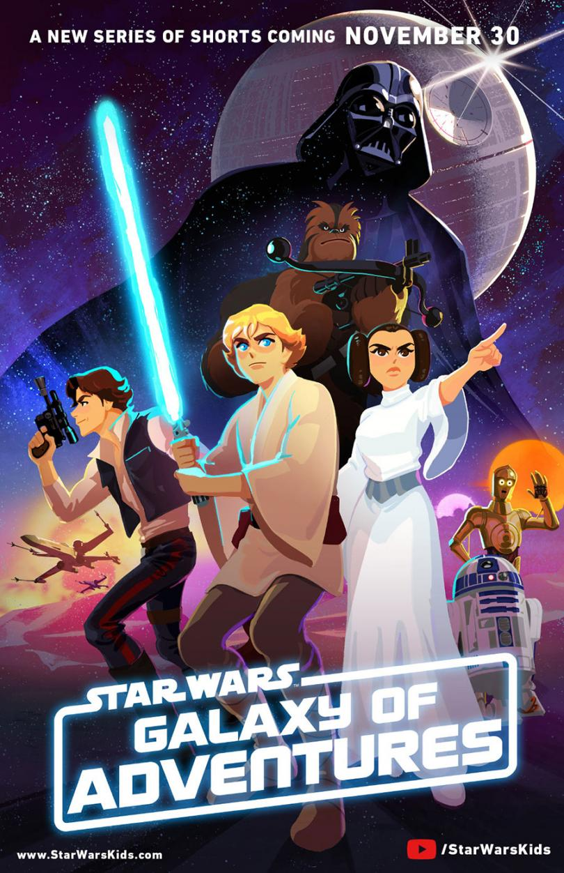 Star Wars: Galaxy of Adventures poster