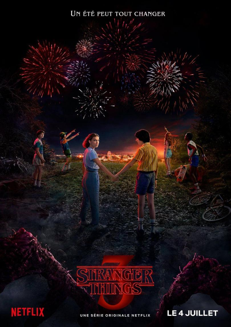 Stranger Things saison 3 poster